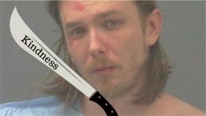 Hombre en Florida amenaza con matar a otra persona con su machete llamado 'Kindness'