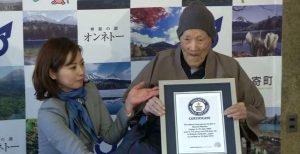El hombre vivo más viejo del mundo muere a los 113 años en Japón