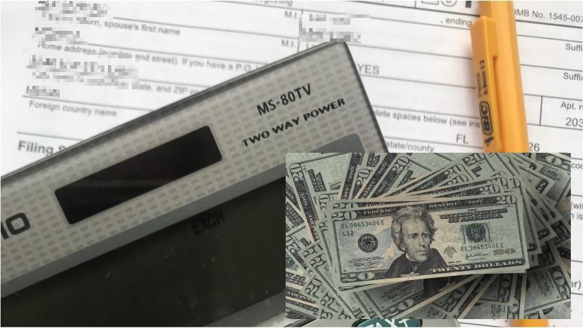 Hombre de Florida recibe casi un millón de dólares en retornos del IRS después de reportar solo $18,497 en ingresos