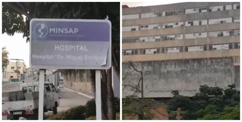 Pacientes del Hospital La Benéfica en La Habana evacuados por un incendio