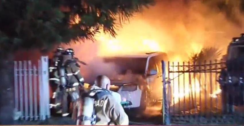 Una niña de 6 años alerta a todos en una vivienda de Miami de un voraz incendio