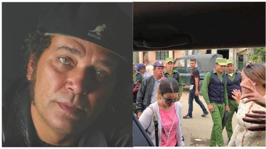 """Actor cubano Luis Alberto García sorprendido por los operativos policiales para impedir la llegada de ayudas:  """"¿Es un delito que un cubano ayude a otro?"""""""
