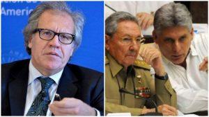 """Luis Almagro sobre la dictadura en Cuba:  """"Es el concepto de la revolución jinetera"""""""