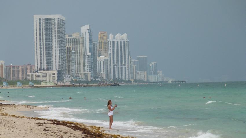 Lluvia y fuertes tormentas eléctricas para la tarde en Miami