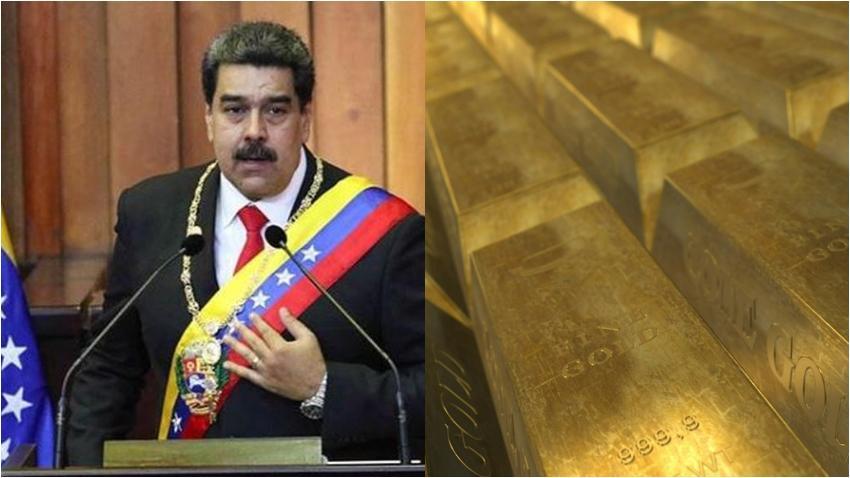 Nicolás Maduro saca al menos ocho toneladas de oro de Venezuela