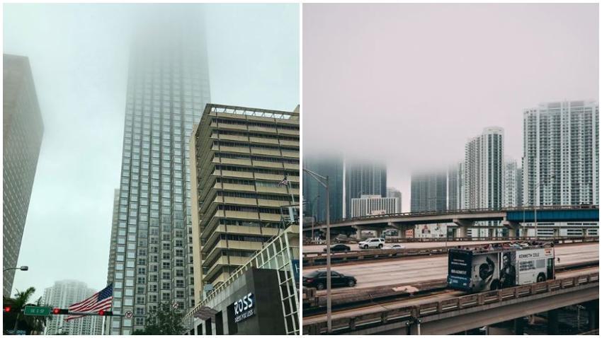 Alerta de niebla densa para todo Miami-Dade y Broward