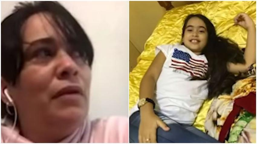 Madre acusa a médicos cubanos de dejar morir a su hija de 9 años y de vender insumos en el mercado negro dejando a los pacientes sin recursos