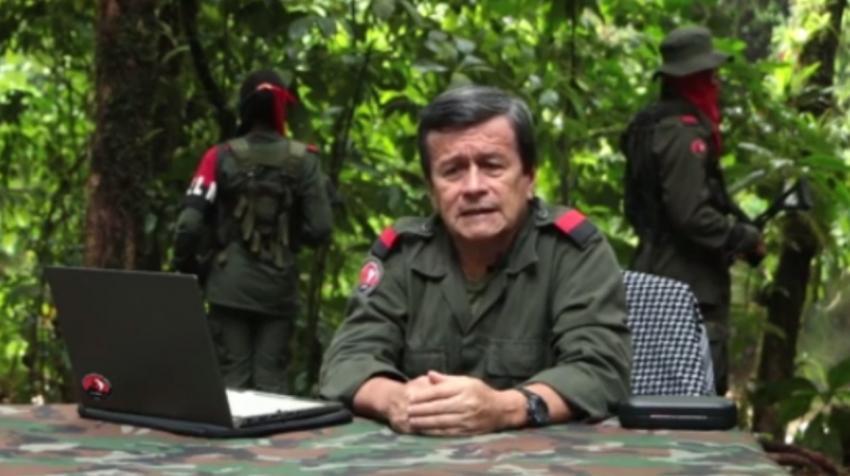 Jefe de la mesa de diálogo del ELN, anuncia desde Cuba que no pedirán asilo al gobierno castrista y retornarán a las montañas