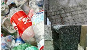 Ingeniero cubano reutiliza plástico desechable para fabricar hormigón