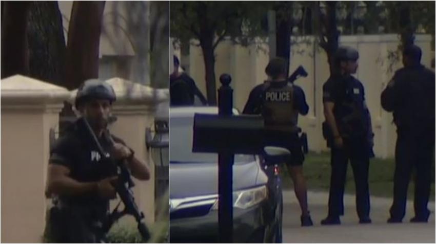 Hombre en Coral Gables abre fuego contra adolescente que entró a su casa a robar; SWAT Team responde