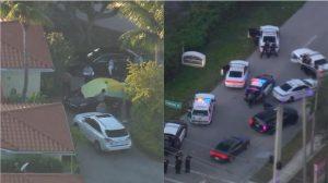 Matan con un disparo en la cabeza a una mujer de Miami afuera de su casa