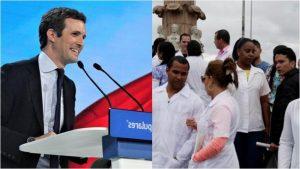 "Partido Popular insta al Gobierno español a otorgar ""asilo político"" a médicos cubanos"