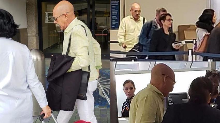 Vocero de la dictadura en Cuba, Rafael Serrano, termina sus vacaciones en Miami y regresa a la isla
