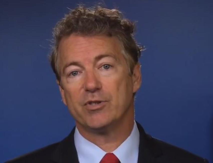 Senador republicano Rand Paul se va a Canadá para operarse una hernia