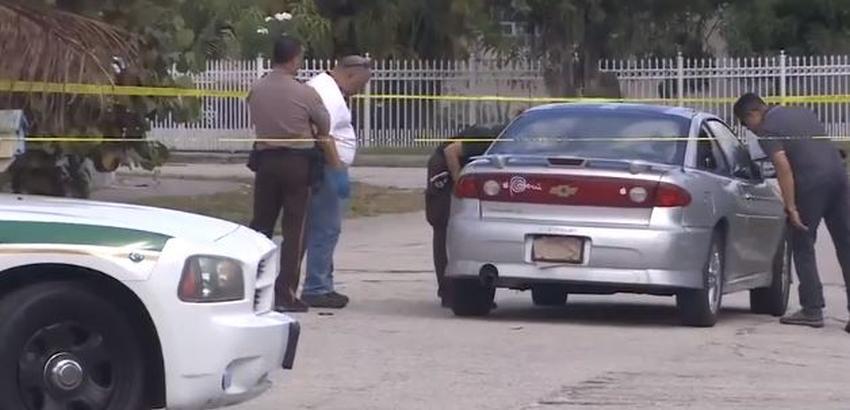 Hombre de Miami persigue a ladrones quienes abren fuego contra él; una bala le roza el rostro