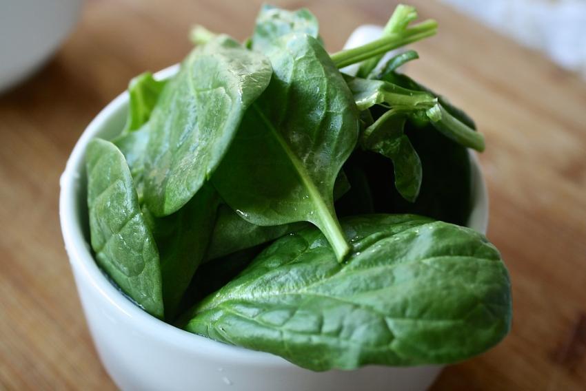 Retiran productos de espinacas del mercado por temor a salmonella
