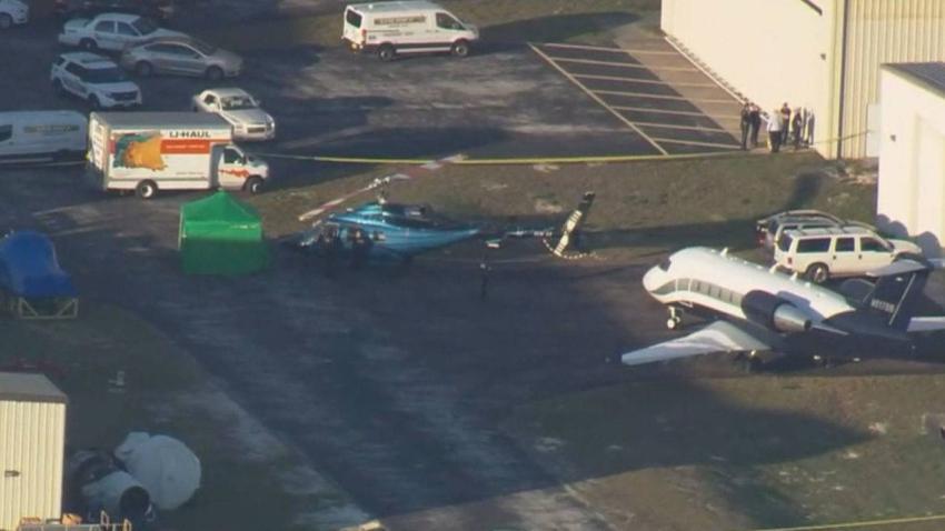 Una persona es decapitada por un helicóptero en aeropuerto de Florida