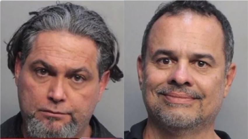 Hablan los dos hombres acusados de fingir ser agentes federales en Miami; lo niegan todo