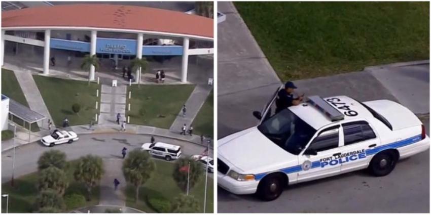 Arrestan a un niño por llevar un arma a la secundaria Dillard en Broward