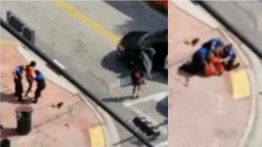 Hombre en Miami Beach finge estar armado y quiere que un policía lo mate
