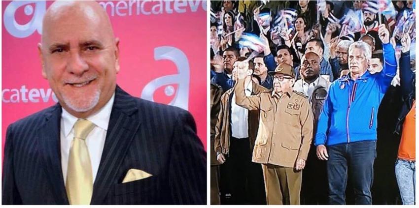 Carlos Otero explotó en televisión y dijo que el Gobierno cubano no respeta al pueblo
