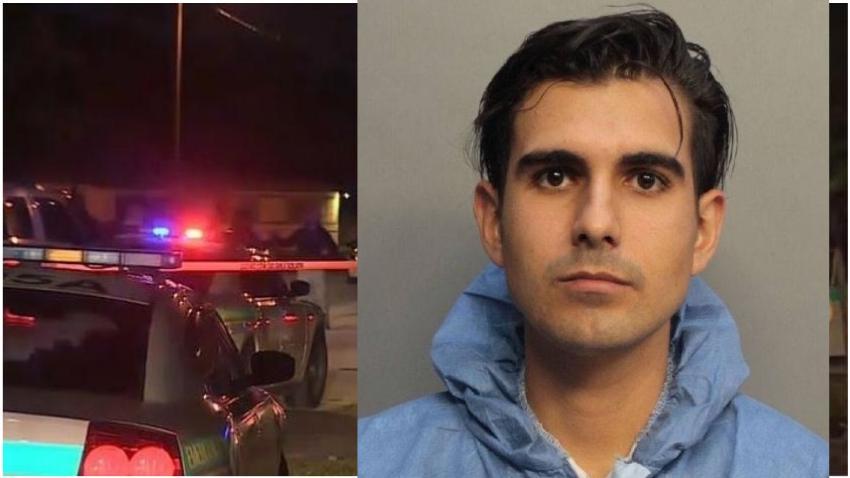 Joven de Miami es acusado de apuñalar a su padrastro en su casa
