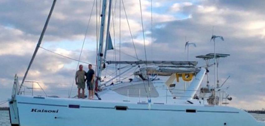 Máxima condena de dos años  en prisión para estadounidenses que robaron un catamarán en Florida para ir a Cuba