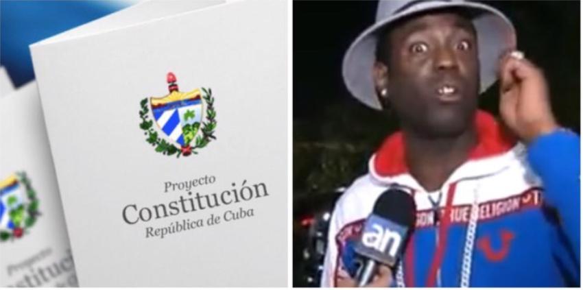"""Chocolate MC insta a los cubanos a votar NO en el referendo constitucional: """"son demasiados años de sufrimiento"""""""
