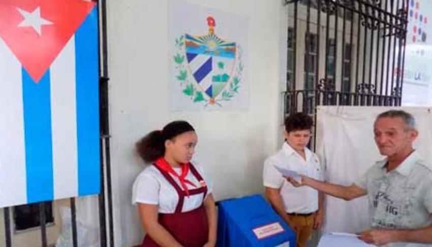 Listos todos los colegios electorales en Cuba para llevar a cabo la falsa consulta popular
