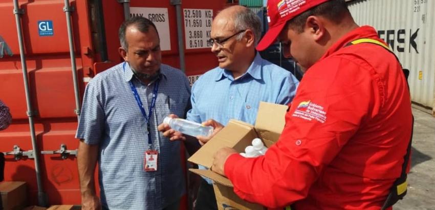 Régimen venezolano recibe 933 toneladas de medicina enviadas por Cuba y China