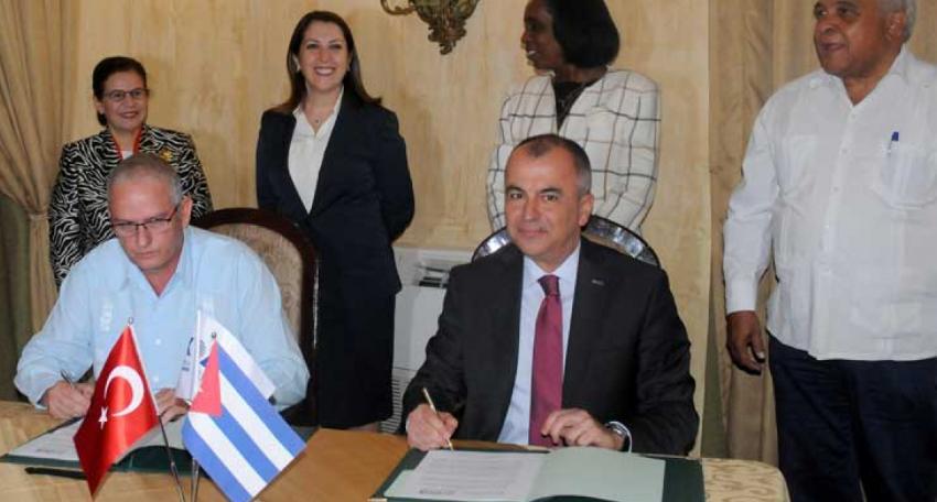 Cuba y Turquía buscan ampliar su intercambio comercial e impulsar las relaciones empresariales