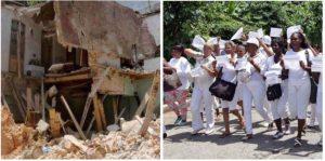 Amenazan con desalojo de un albergue estatal a cuatro Damas de Blanco que perdieron sus casas