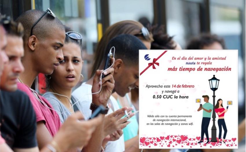 Críticas en redes sociales por oferta de ETECSA por el Día de los Enamorados