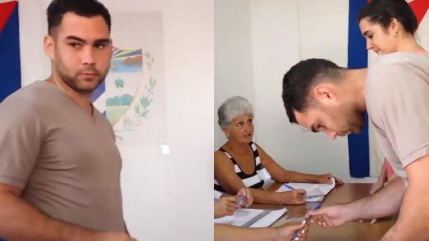 Elián González defiende la farsa electoral y elogia la nueva constitución en Cuba