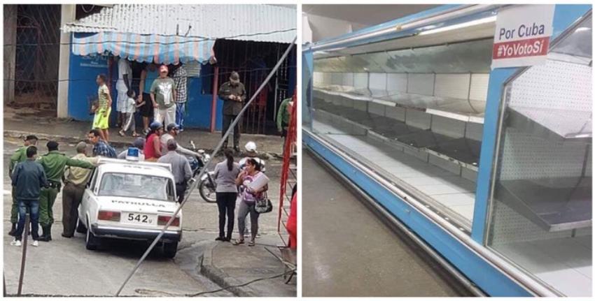 La escasez de alimentos se acentúa en Cuba, aunado a una mayor presencia policial por temor a protestas