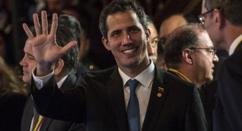 Presidente encargado de Venezuela, Juan Guaidó es recibido por Bolsonaro en Brasilia
