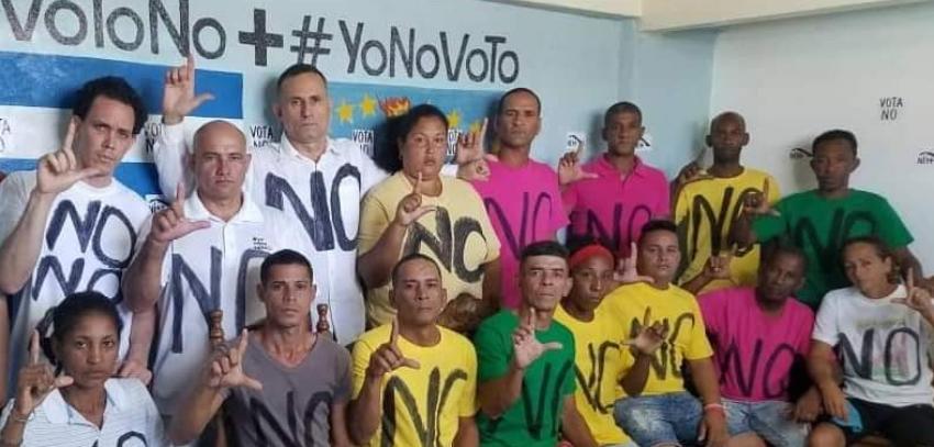 Opositores denuncian el fraude que cometerá el régimen cubano con el referendo constitucional en una carta a Trump