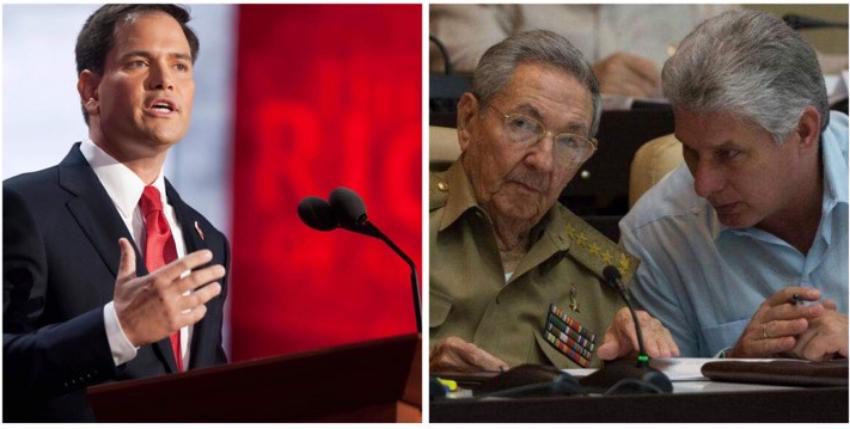 """Marco Rubio anuncia vienen """"más sanciones"""" para el régimen de La Habana"""