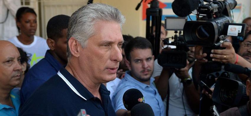 """Díaz-Canel asegura que su gobierno no puede desconocer """"a los muchos cubanos que viven en el exterior"""""""