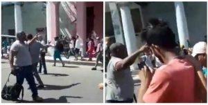 Protesta en La Habana por el fraude electoral sobre la constitución en Cuba