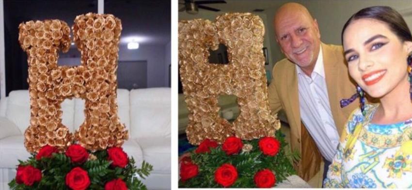 El hermoso regalo de Carlos Otero a Haniset por el Día de los Enamorados