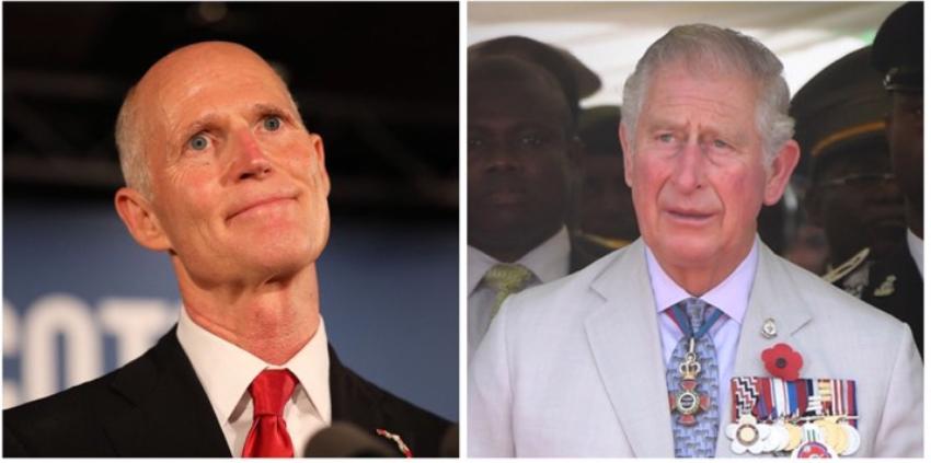 Rick Scott le pide al príncipe de Gales que en lugar de viajar a La Habana visite a los cubanos del exilio