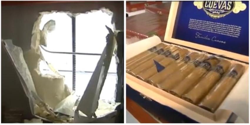 Roban más de 70 mil dólares en cajas de tabaco a un negocio de una familia cubana en Doral