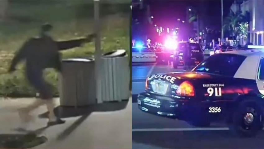Autoridades buscan a hombre sospechoso de asesinato en Miami Beach