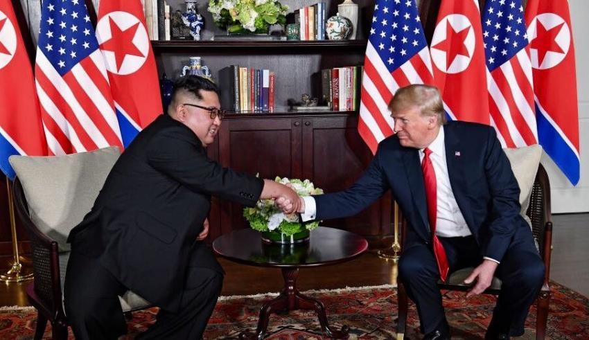 Donald Trump asegura que Corea del Norte será gran una potencia económica bajo el liderazgo del dictador Kim Jong-Un
