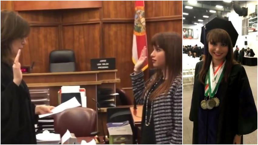 Joven graduada en Miami es la primera persona abiertamente autista en ejercer leyes en el estado de la Florida