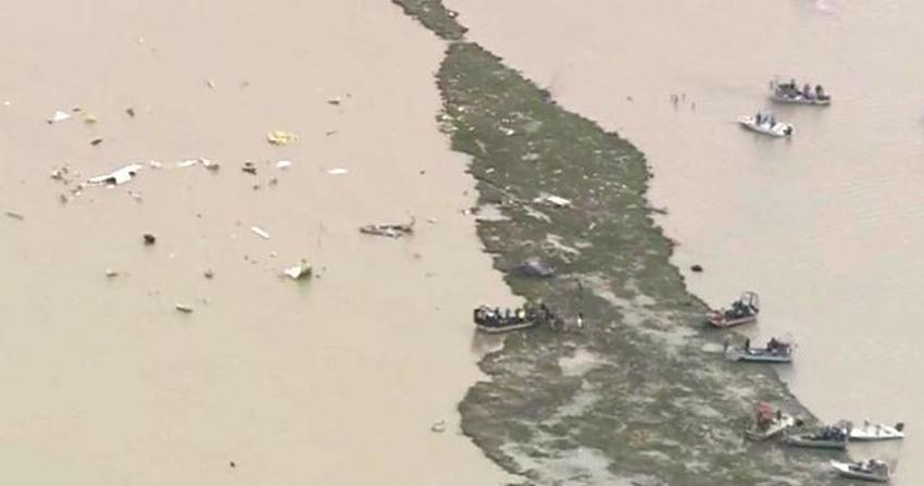 Confirman tres muertos en avión de cargo Boeing 767 procedente de Miami que estrelló cerca de Houston