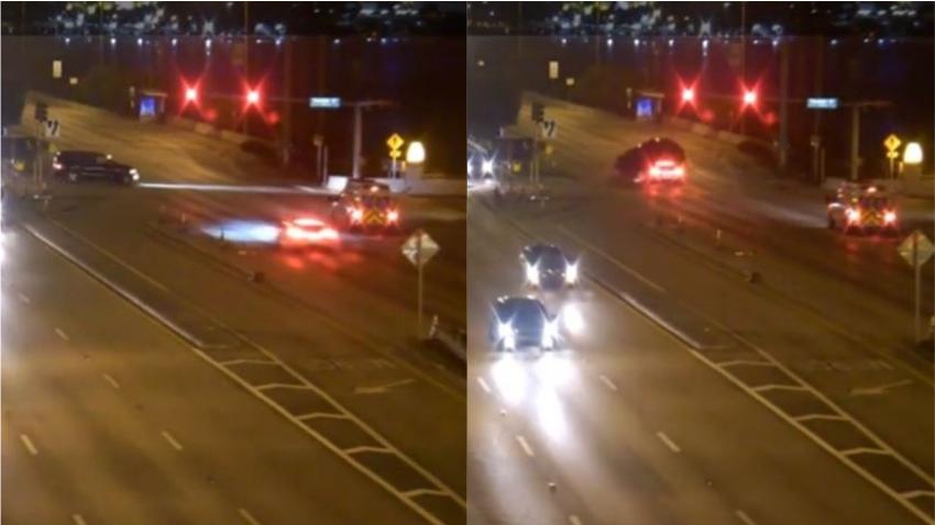 Publican video de un Tesla llevándose una roja a 128mph en Miami Beach provocando impactante accidente