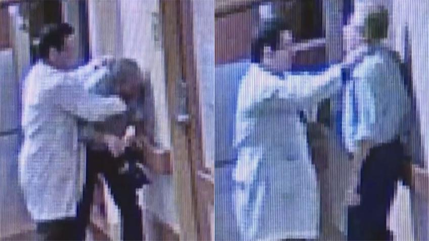 Publican video de pelea entre doctor y familiar de un paciente en los pasillos de un hospital del sur de la Florida