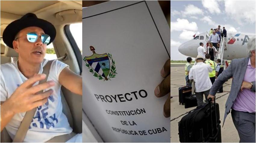 """Alexis Valdés quiere que en la constitución se permita viajar a Cuba libremente: """"En esa nueva constitución deberían incluir un artículo que los cubanos pueden entrar y salir de Cuba libremente"""""""